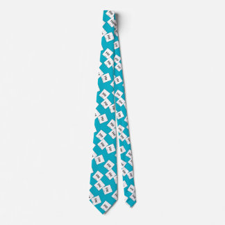 Hehehe Helium-lachendes Individuelle Krawatte