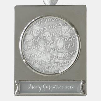 Heide-grauer Normallack fertigen es besonders an Banner-Ornament Silber