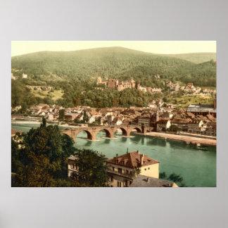 Heidelberg I, Baden-Württemberg, Deutschland Poster