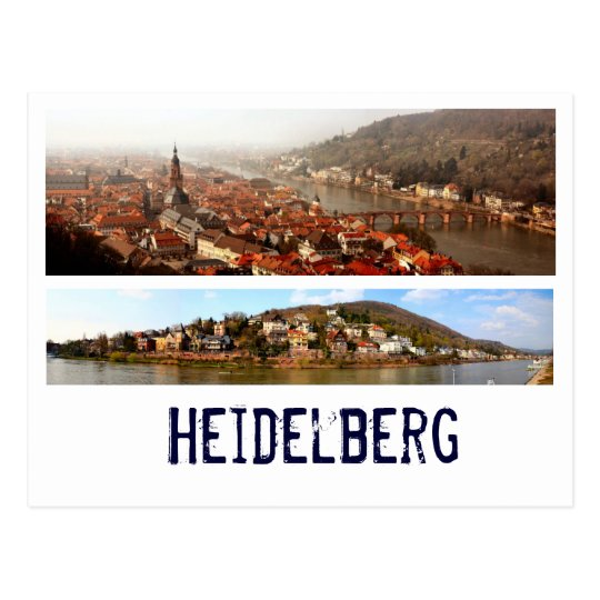 Heidelberg Postkarte