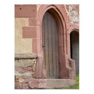 Heidelberg-Schloss-Tür-Postkarte Postkarte