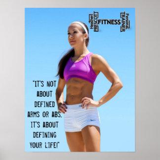 Heideprescott-Fitnessdrucke Poster