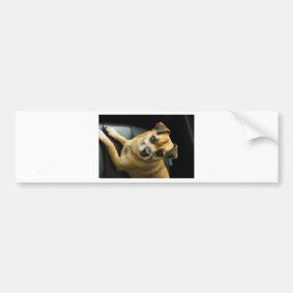 Heidi der Pinup-Hund Autoaufkleber