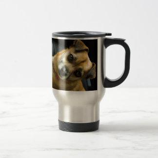 Heidi der Pinup-Hund Reisebecher