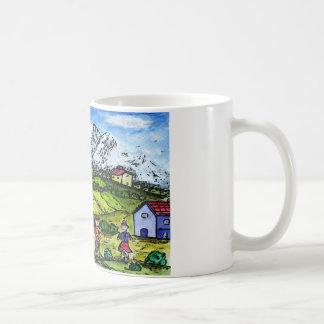 Heidi-Land Kaffeetasse