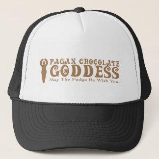 Heidnische Schokoladen-Göttin Truckerkappe