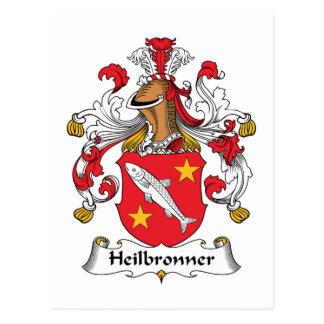 Heilbronner Familienwappen Postkarten