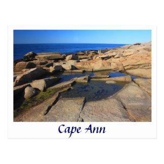 Heilbutt-Punkt-Gezeiten-Pool, Kap Ann Rockport Postkarte