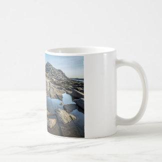 Heilbutt-Punkt vor Sonnenuntergang Kaffeetasse