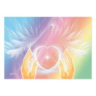 Heilen mit Engeln Mini-Visitenkarten