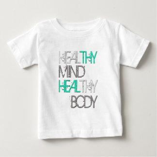 Heilen Sie Thy Verstand heilen Thy Körper Baby T-shirt