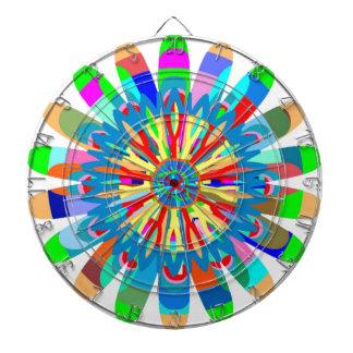 Heilende Farbenergie: Inspiration von der Dartscheibe