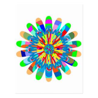 Heilende Farbenergie: Inspiration von der Postkarte