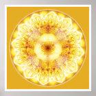Heilende Mandala 1 Poster