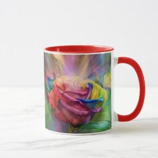 Heilende Rosen-Kunst-Tasse Tasse
