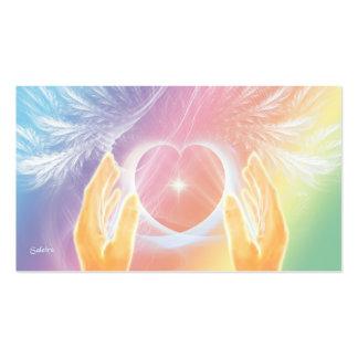 Heilender Engel Visitenkarte