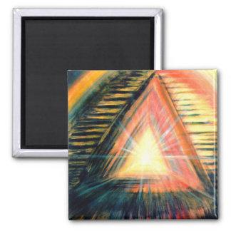 Heilendes Licht Quadratischer Magnet