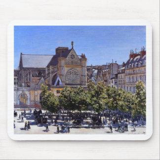 Heilig-Germain l'Auxerrois durch Claude Monet Mousepads