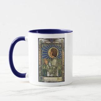 Heilig-Jeanne d'Arc Buntglas-Bild Tasse