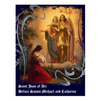 Heilig-Jeanne d'Arc Postkarte