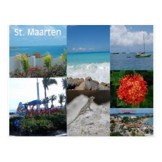 Heilig-Maarten-Foto-Collage durch Khoncepts Postkarte
