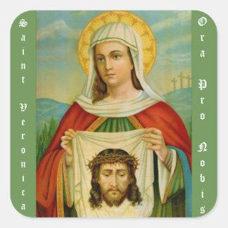 Heilig-Veronica-Fest-Tag am 12. Juli Quadratischer Aufkleber