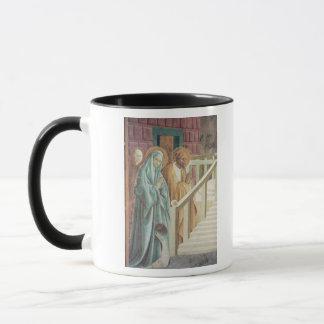 Heilige Anne und Joachim an der Darstellung von Tasse