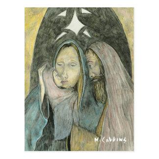 Heilige Familie Jesus Mary u. Joseph Postkarte