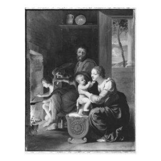 Heilige Familie, nach 1650 Postkarte