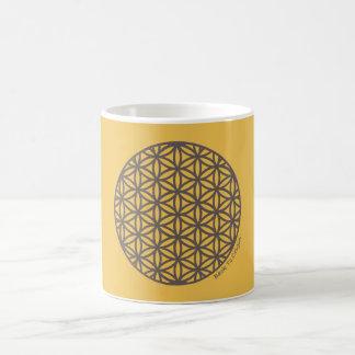 Heilige Geometrie-Blume des Lebens Kaffeetasse