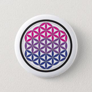 heilige Geometrie des Bi Runder Button 5,1 Cm