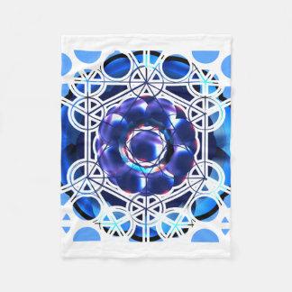 Heilige Geometrie-Fleece-Decke Fleecedecke