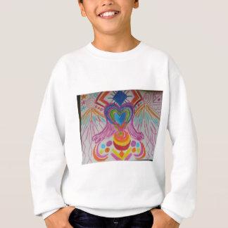 Heilige Herz-Licht-Sprache Sweatshirt