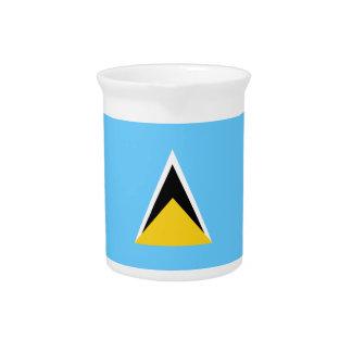 Heilige Lucia-Flagge Getränke Pitcher