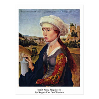 Heilige Maria Magdalene. Durch Rogier van der Postkarte