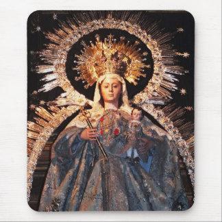 Heilige Mutter Mary und Baby Jesus Mousepad