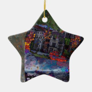 Heilige Nacht Keramik Ornament