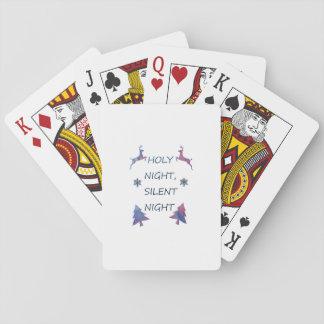 Heilige Nacht, stille Nacht Spielkarten