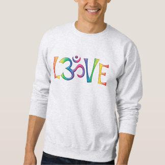 Heilige OM-LIEBE gefärbt Sweatshirt
