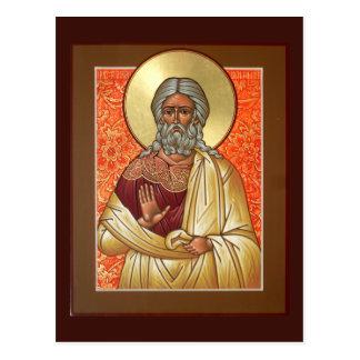 Heilige Patriarch-Benjamin-Gebets-Karte Postkarte