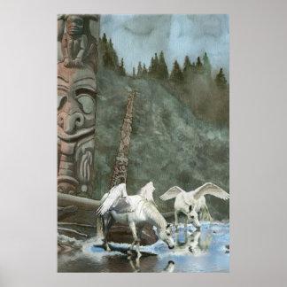 Heilige Pegasi, Fluss-und Poster