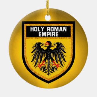 Heilige römisches Reich-Flagge Keramik Ornament