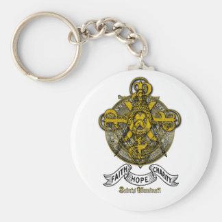 Heilige von Illuminati Freimaurer u. Freimaurer Schlüsselanhänger