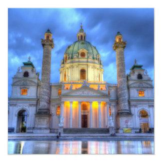 Heiligen Charless Kirche in Wien, Österreich Karte