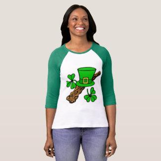 Heiligen Patrick Kunst-Thema T-Shirt