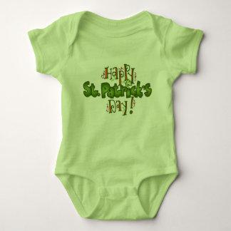 Heiligen Patrick Tag Baby Strampler