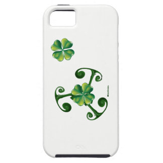 Heiligen Patrick Tag - Triskele ^Lá Fhélie Pádraig iPhone 5 Case