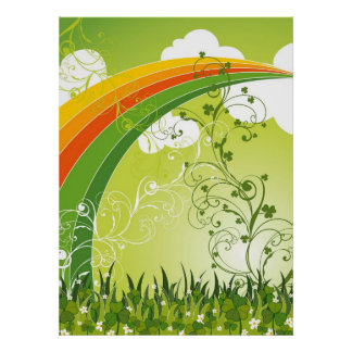 Heiligen Patrick Tagesglückliche Poster