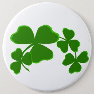 Heiligen Patrick Tagesglückliches Runder Button 15,3 Cm