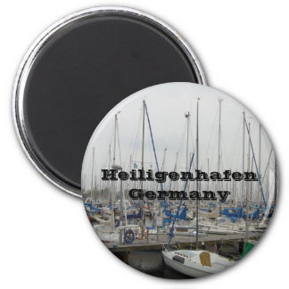 Heiligenhafen Deutschland Runder Magnet 5,1 Cm